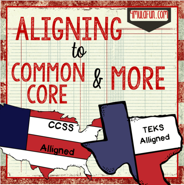 Aligning to Common Core and More