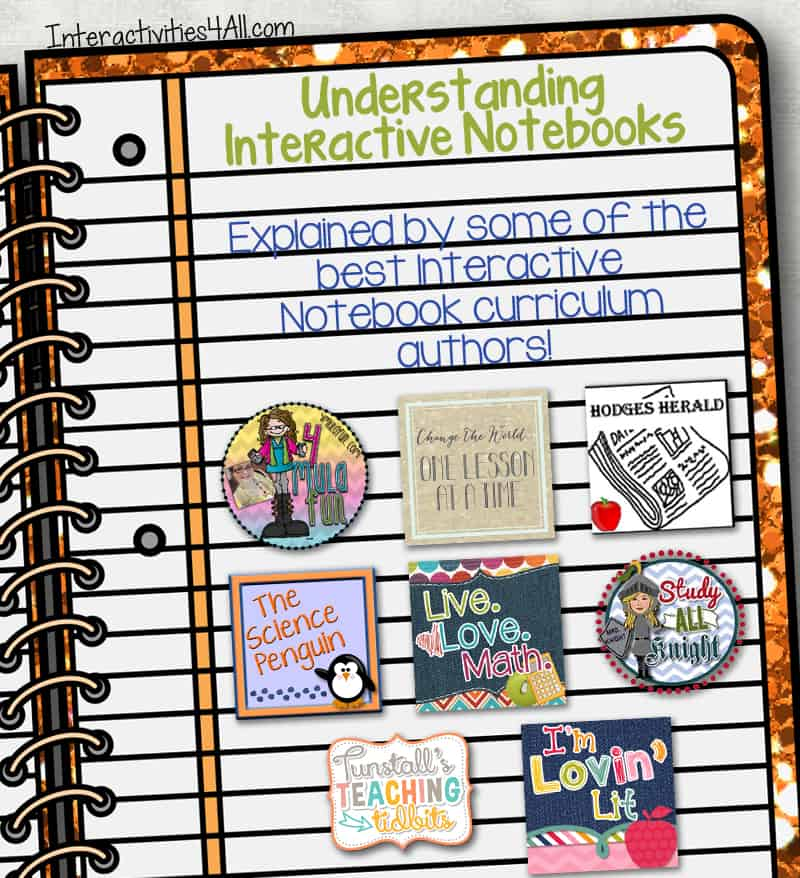How Interactive Notebooks Benefit ALL Learning Types {Blog Hop}
