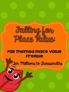 Falling for Place Value
