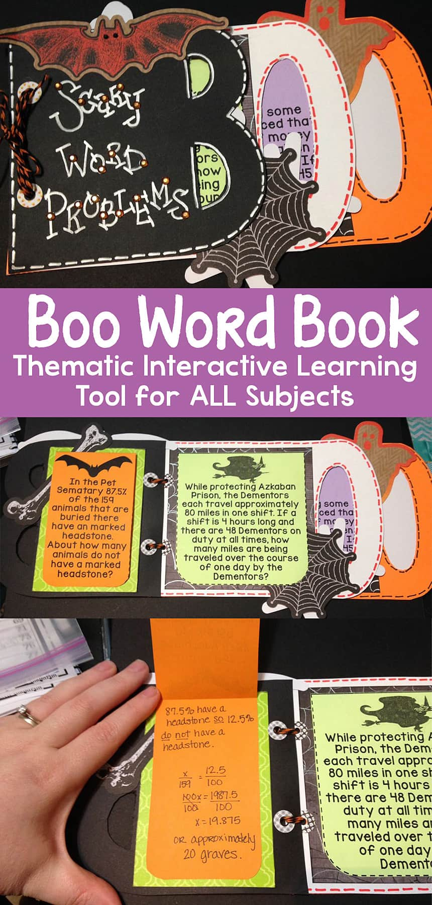 Boo Word Book – Thematic Interactive Learning Tool