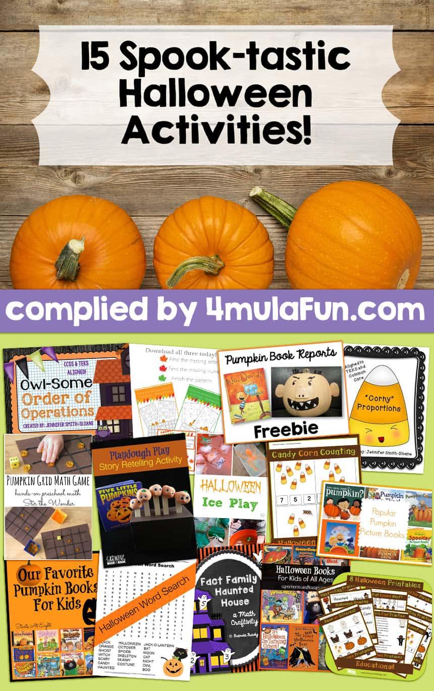15 Spooktastic Halloween Activities