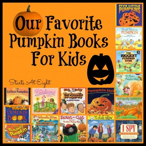Favorite Pumpkin Books For Kids