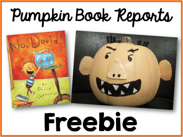 Pumpkin Book Report Freebie