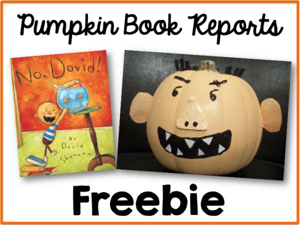 Pumpkin Book Report Freebie