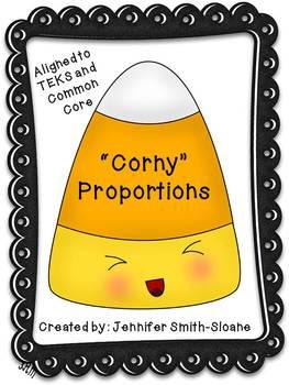 Corny Proportions Activity