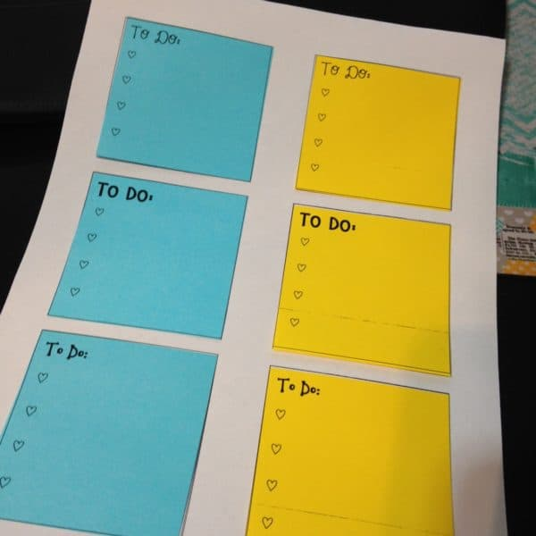 Post It To Do Lists
