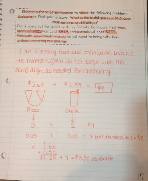 strategies in math clustering decimals for addition or subtraction smith curriculum and. Black Bedroom Furniture Sets. Home Design Ideas