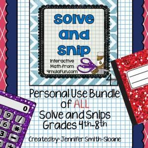 Solve and Snips English Bundle