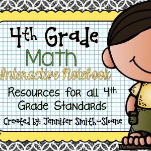 4th Grade Interactive Notebook Bundle