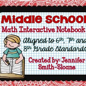 Middle School Interactive Notebook Bundle