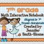 7th Grade Interactive Notebook Bundle