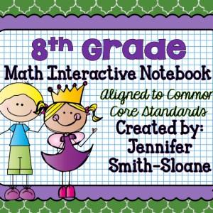... / INB Bundles / 8th Grade Interactive Notebook Bundle- All Standards