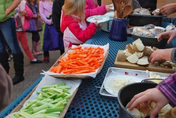 Pilgrim Feast At School