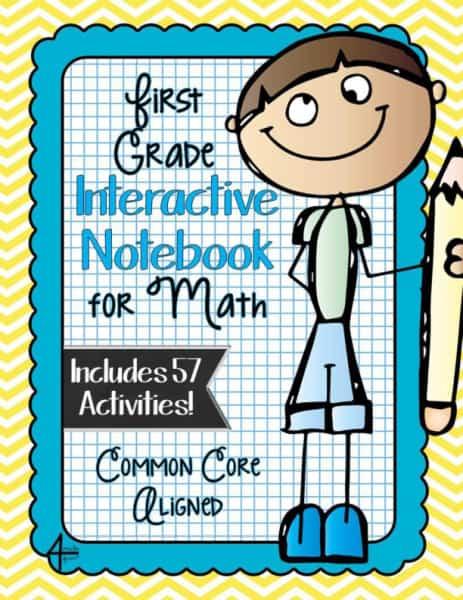First Grade Interactive Notebook Bundle