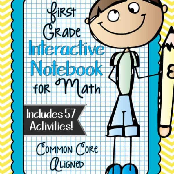 First Grade Interactive Notebook Bundle