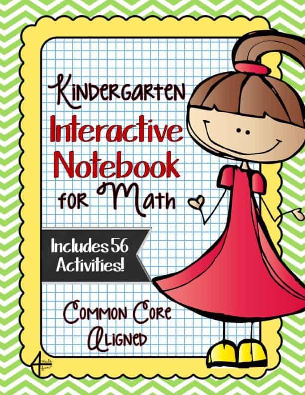 KINDERGARTEN Math Interactive Notebook Bundle - Activities for ...