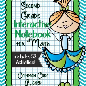 Second Grade Interactive Notebook Bundle