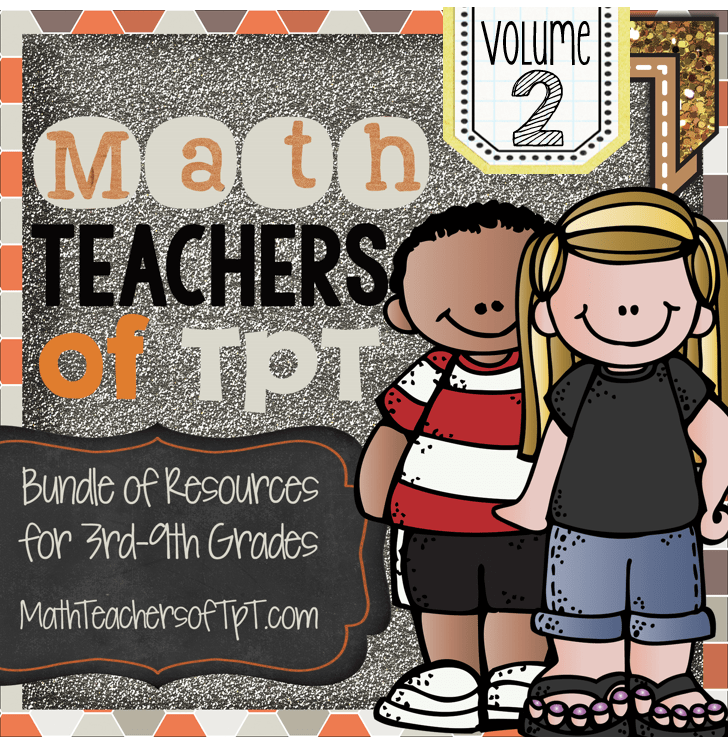 Math Teachers of TPT Discount Bundle