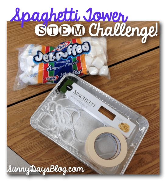 Spaghetti STEM Engineering Challenge