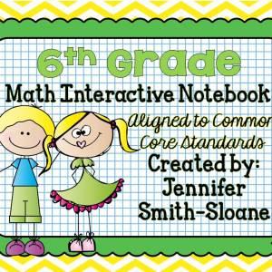 6th Grade Interactive Notebook Bundle