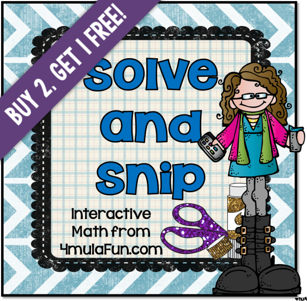Solve and Snip Sale