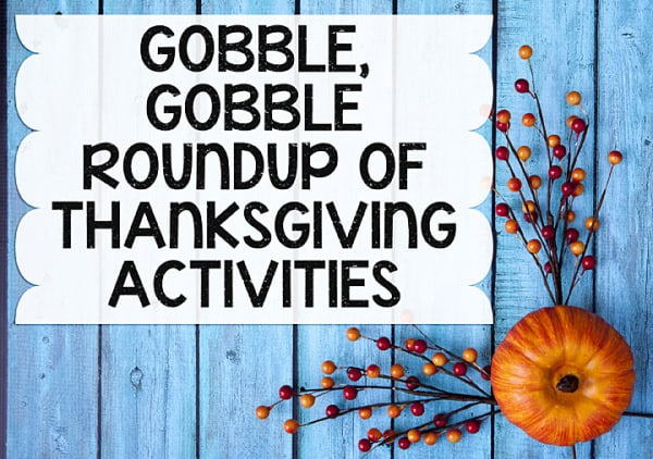 Thanksgiving Educational Activities