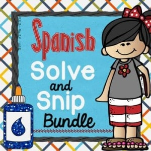 Spanish Solve and Snips Bundle