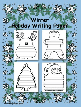 Free Christmas Writing Papers