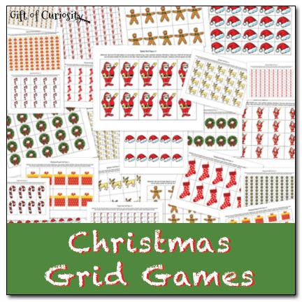 Christmas Grid Games
