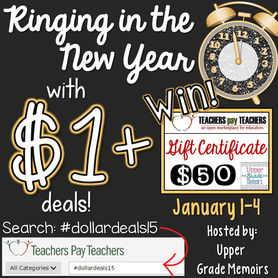 Happy New Year with #dollardeals15 AND a Giveaway!