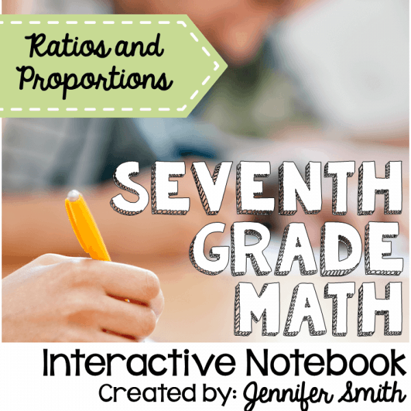 Seventh Grade Ratios and Proportions Interactive Notebook