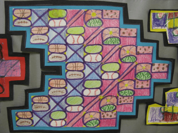 Help students with learn their multiplication table with this art activity!