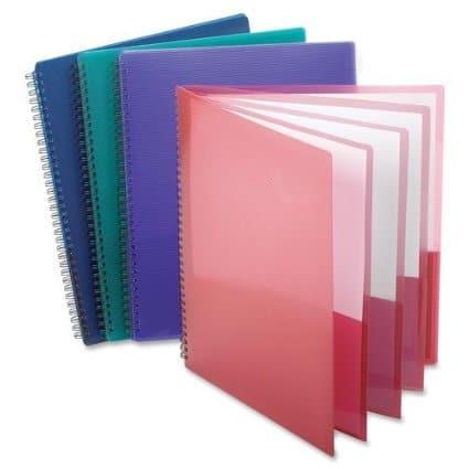 Eight Pocket Folder