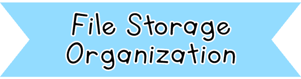 File Storage Organization