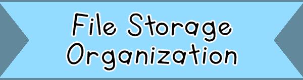 File Storage Organization