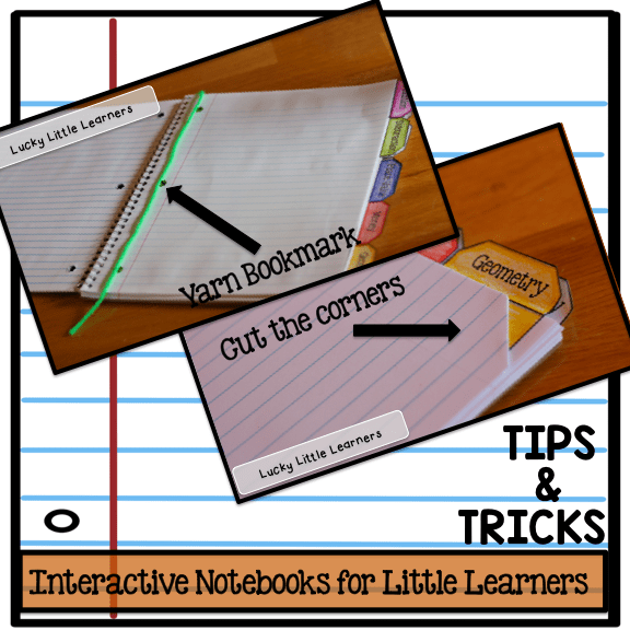 Organize your interactive notebooks