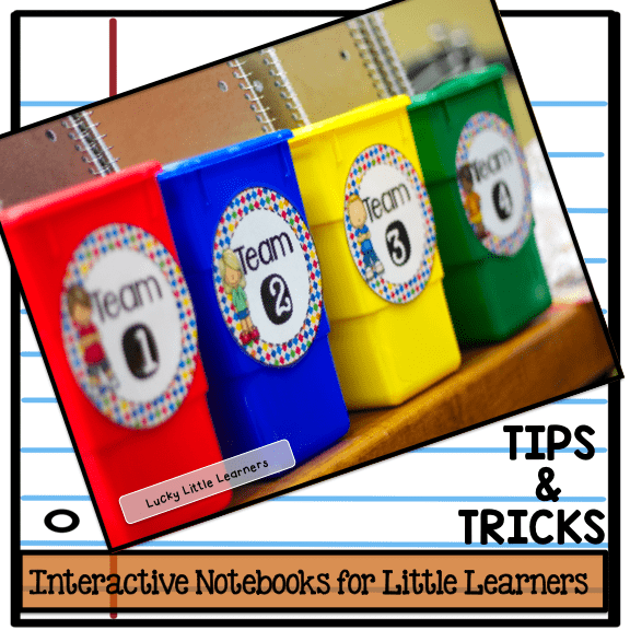 How to store interactive notebooks for the LITTLE LEARNERS