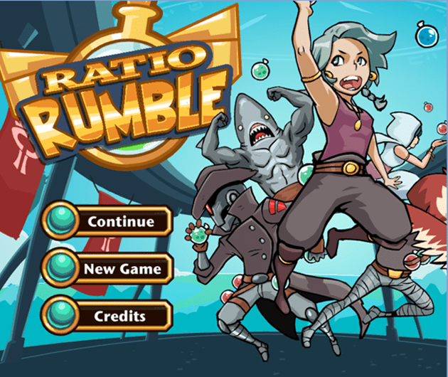 Ratio Rumble is an online game that has students build their own potions using equivalent ratios!