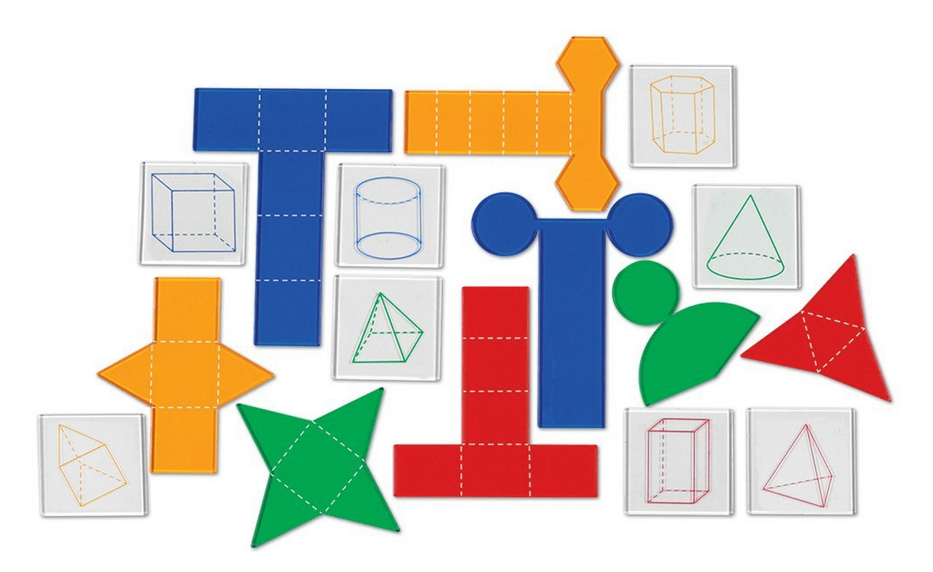 Learning Resources Overhead Folding Geometric Shapes