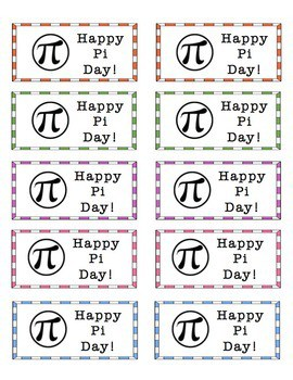 "Free ""Happy Pi Day"" Stickers"