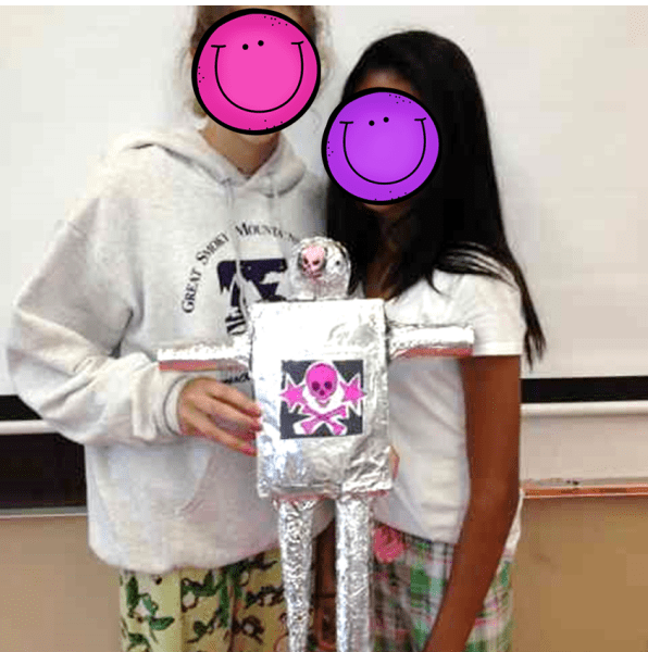 Creating Tin Men to Explore Surface Area Project