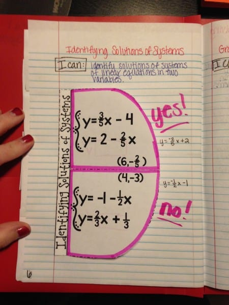 Using Pronged Folders for Interactive Notebooks