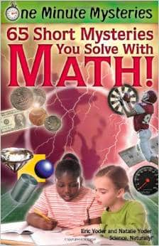 Kids tend to dislike word problems for good reason, but with this book – word problems are more engaging! It's done in a way that students get excited to solve a mystery... they just have to use math to solve it!