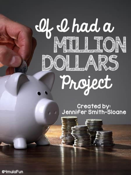"Here in Texas our math standards have been modified to include Financial Literacy for every grade level. Not only has this thrown many teachers for a loop as the materials are hard to come by but it is also a new area to teach for all. In my classroom I LOVED using the ""If I Had a Million Dollars"" Project to help students realize some real-life situations where they would need to not only budget their money appropriately but also appropriately use a checkbook, ledger and more."