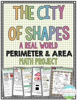 Teaching with A Mountain View has created a new project, The City of Shapes, that allows students to become a master in perimeter and area by building and designing many buildings and aspects in their city.