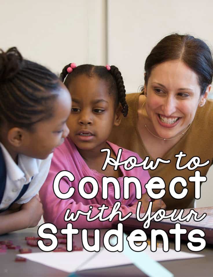 How to Connect with Your Students {The First Year Teacher Book Tour}