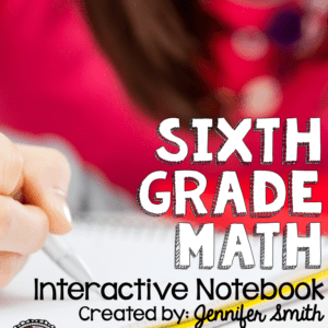 Sixth Grade Math Interactive Notebook
