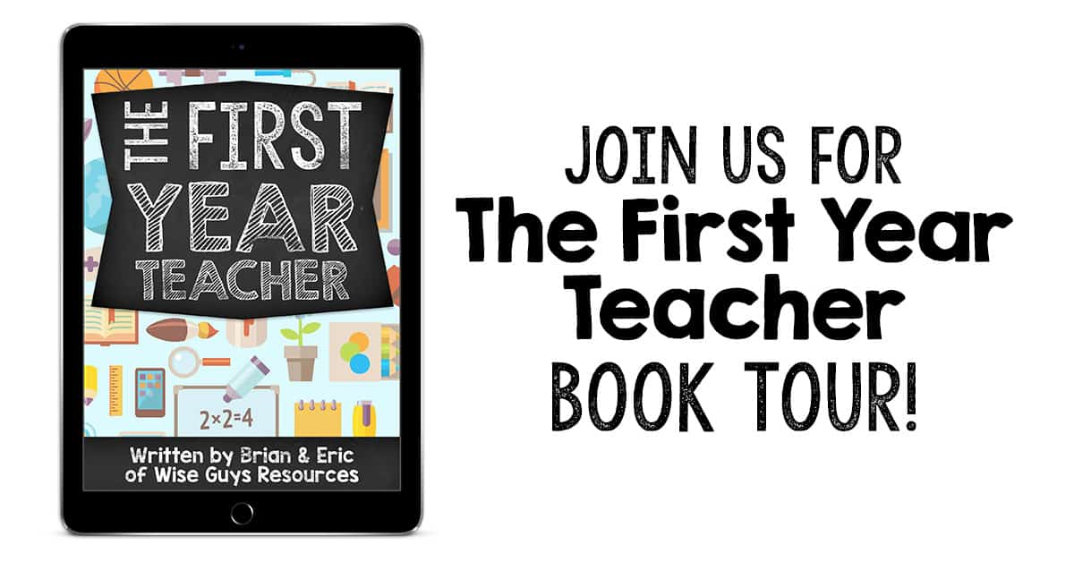 The First Year Teacher Book Tour