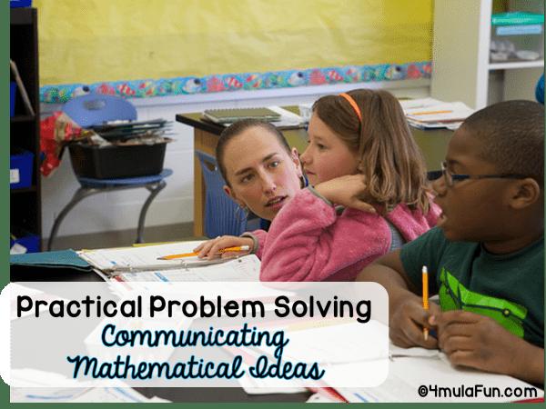 Developing Communication Skills build problem solving skills.
