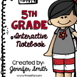 5th Grade Spiral Bound Math Interactive Notebook- Teacher Edition